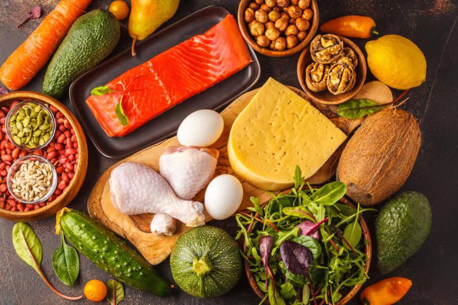 esempio di dieta chetogenica vegana