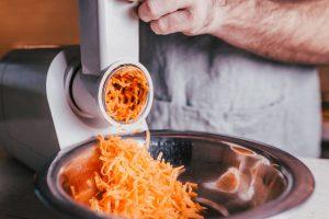 grattugia elettrica carote