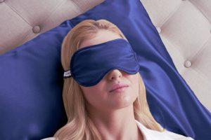 maschera per dormire occhi