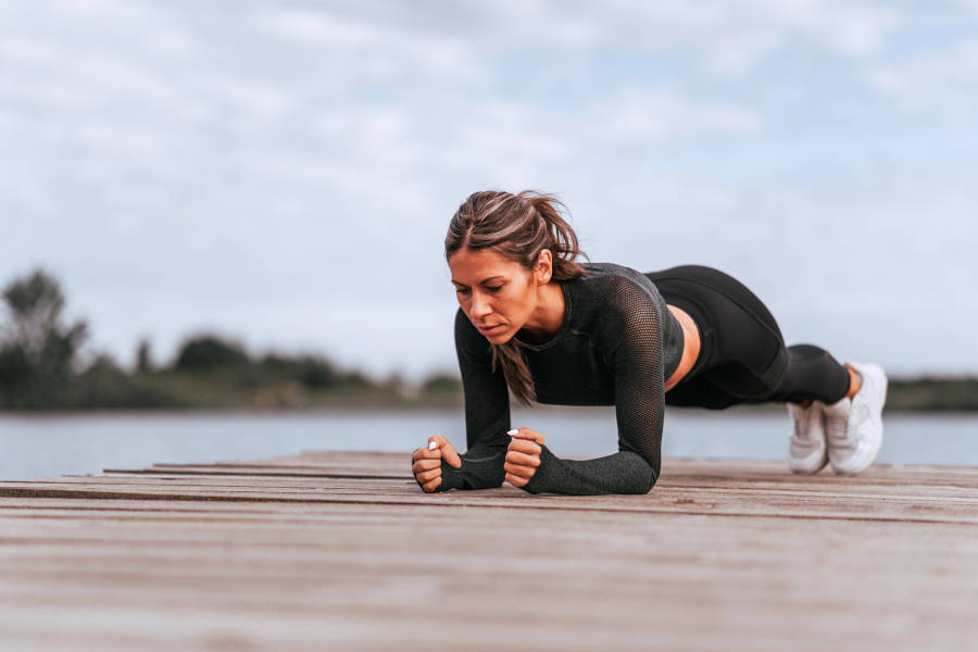 plank core stability